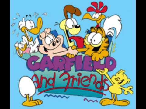 Garfield and friends theme youtube - Garfield noel ...