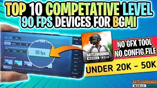 Top 10 Gaming Phones With 90 FPS Output by default in BGMI | 90 fps Supported Devices in BGMI