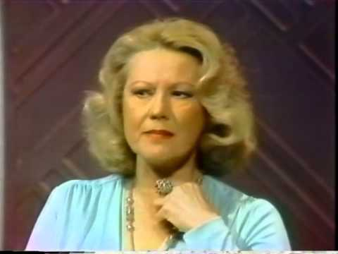 Virginia Mayo, Rare Joe Franklin TV , 1977
