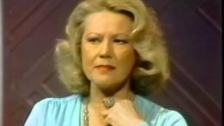 Virginia Mayo, Rare Joe Franklin TV Interview, 1977