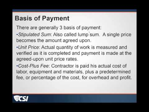 Payment Applications Part 1