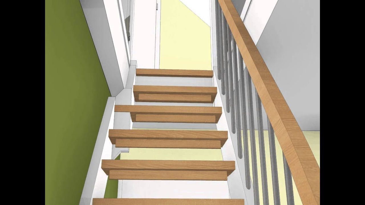 treppe zum dachboden animation youtube. Black Bedroom Furniture Sets. Home Design Ideas