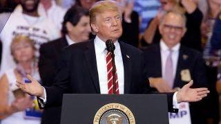 Trump's Arizona rally ignites a media meltdown