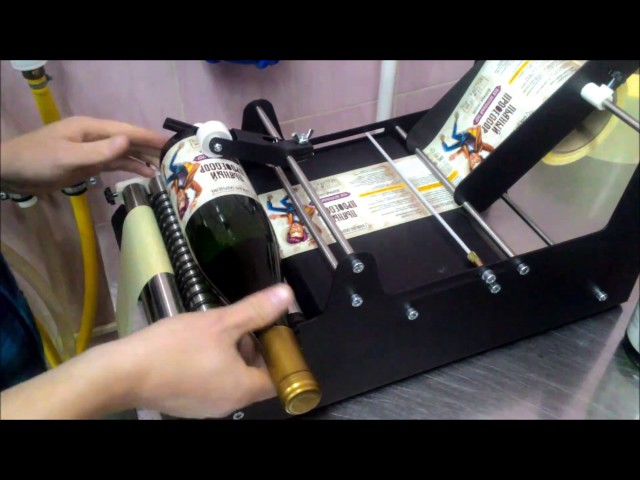Ручная этикетировочная машина Labelmatic / manual easy labeling machine