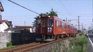 養老鉄道「大垣~揖斐」系統板付き列車(2018/6/9)