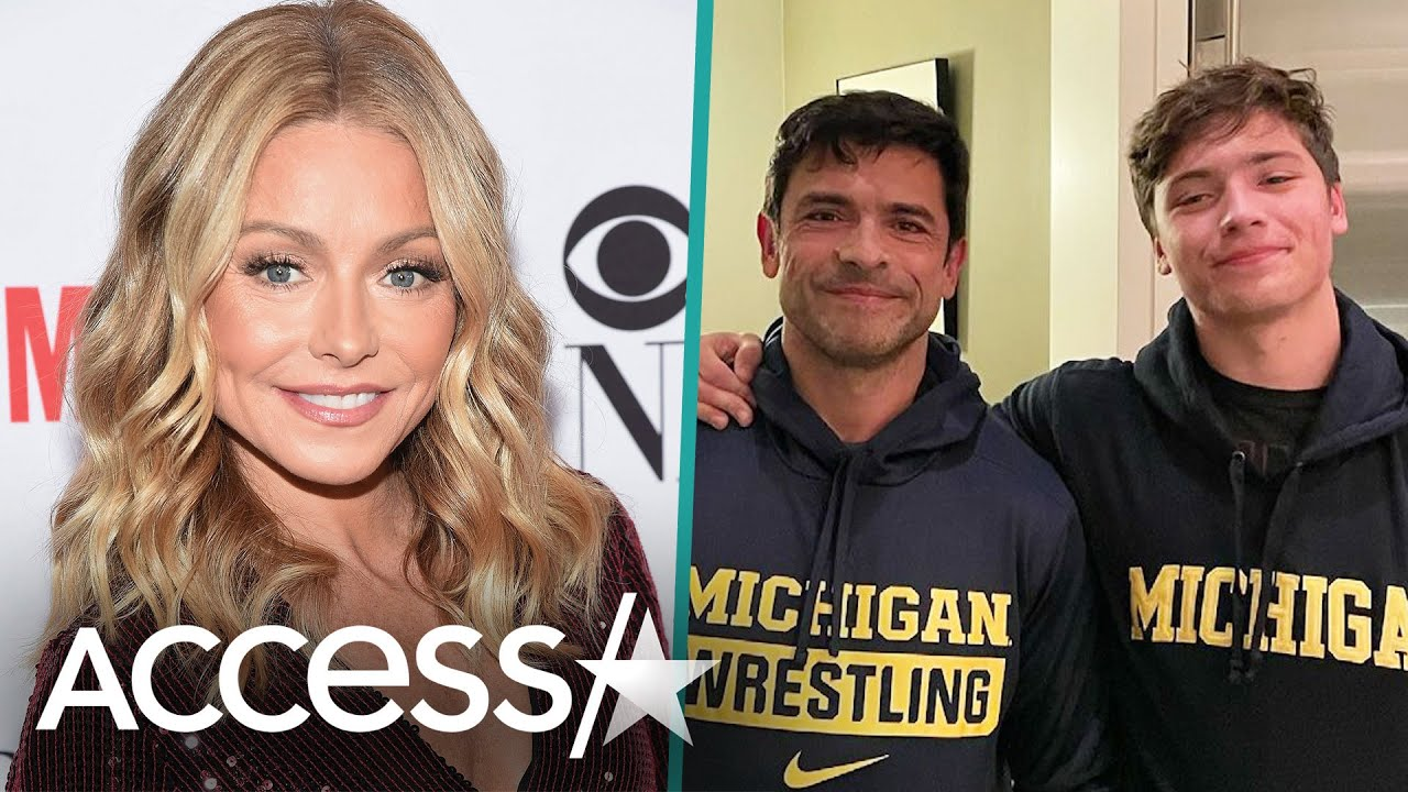 Kelly Ripa's Son Joaquin Commits To UMich For Wrestling