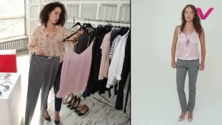 видео Женские классические брюки
