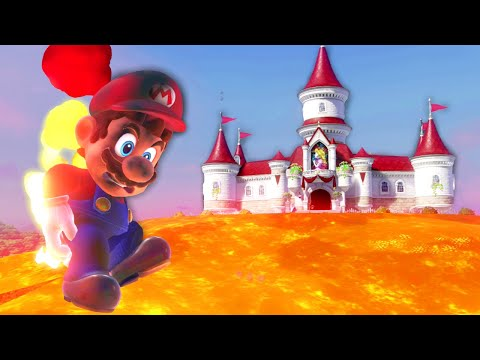 I turned the floor in Mario Odyssey to lava