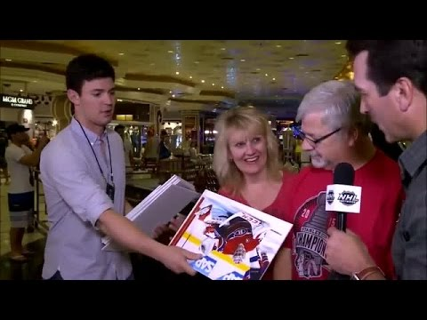 Price and Riggle prank fans in Las Vegas