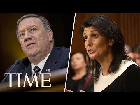Mike Pompeo & U.S. Ambassador  un human rights council