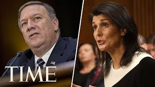 Mike Pompeo & U.S. Ambassador To The UN Deliver Remarks About UN Human Rights Council | TIME