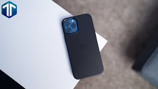 iPhone 12 Pro Max Official Apple Leather Case (Black) Review! Finally WORTH IT?