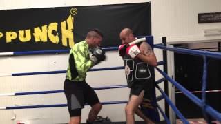Palestra kick and punch