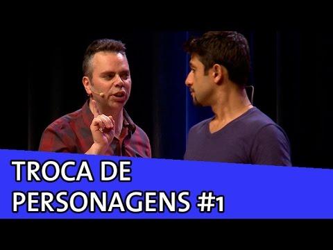 IMPROVÁVEL - TROCA DE PERSONAGENS #1