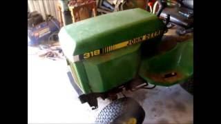 Predator 670cc 22HP V-Twin Engine on my 318 John Deere