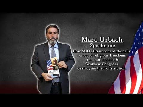 SCOTUS removed religious freedoms. Obama & Congress destroyed our Constitution, M. Urbach