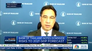 Thailand's economic growth will be 'lackluster' for some time, says central bank governor