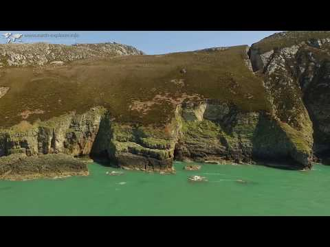 Lighthouse South Stack - Holyhead - Wales - DJI Phantom - Escape to the Country
