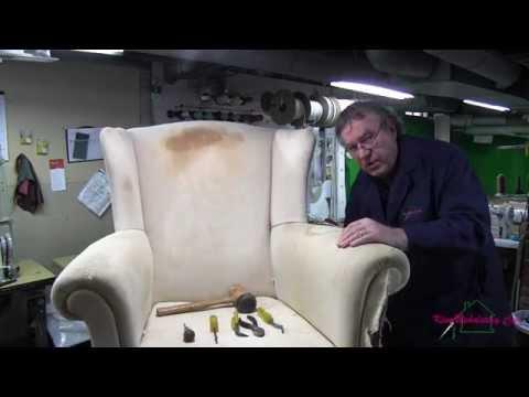 Wingback Chair Teardown