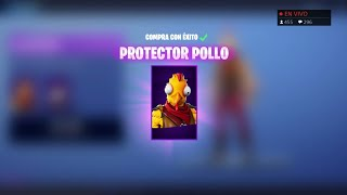 PLAYING WITH THE 'NEW AND BEST/WORST SKIN' DE TOUS FORTNITE 'PROTECTOR POOL' AVEC SUBS ET...