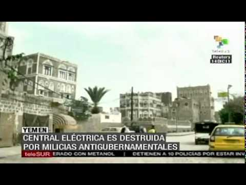 Rationing of electricity in Yemen due to violence