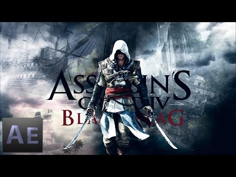Assassin's Creed IV Black Flag | How To Make Creative Wallpaper | HD