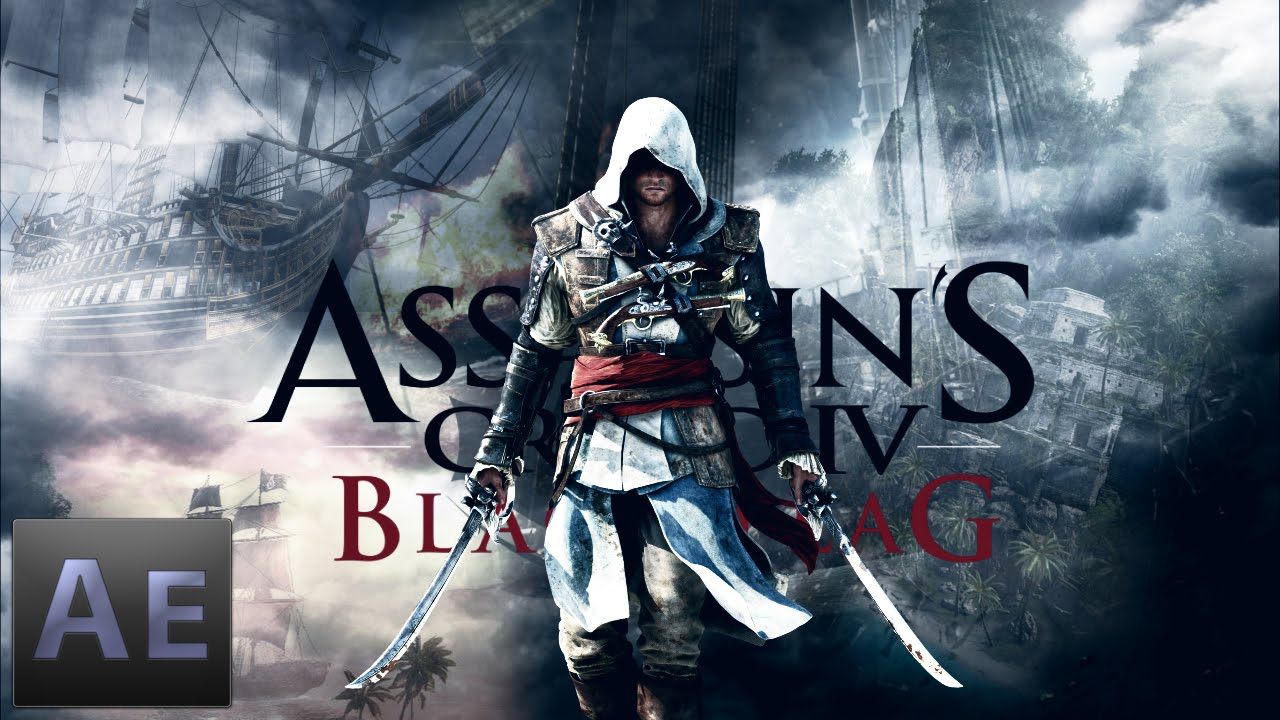 Assassin's Creed IV Black Flag | How to make Creative Wallpaper | HD - YouTube