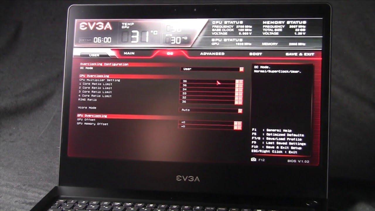 Download EVGA SC17 Gaming Laptop
