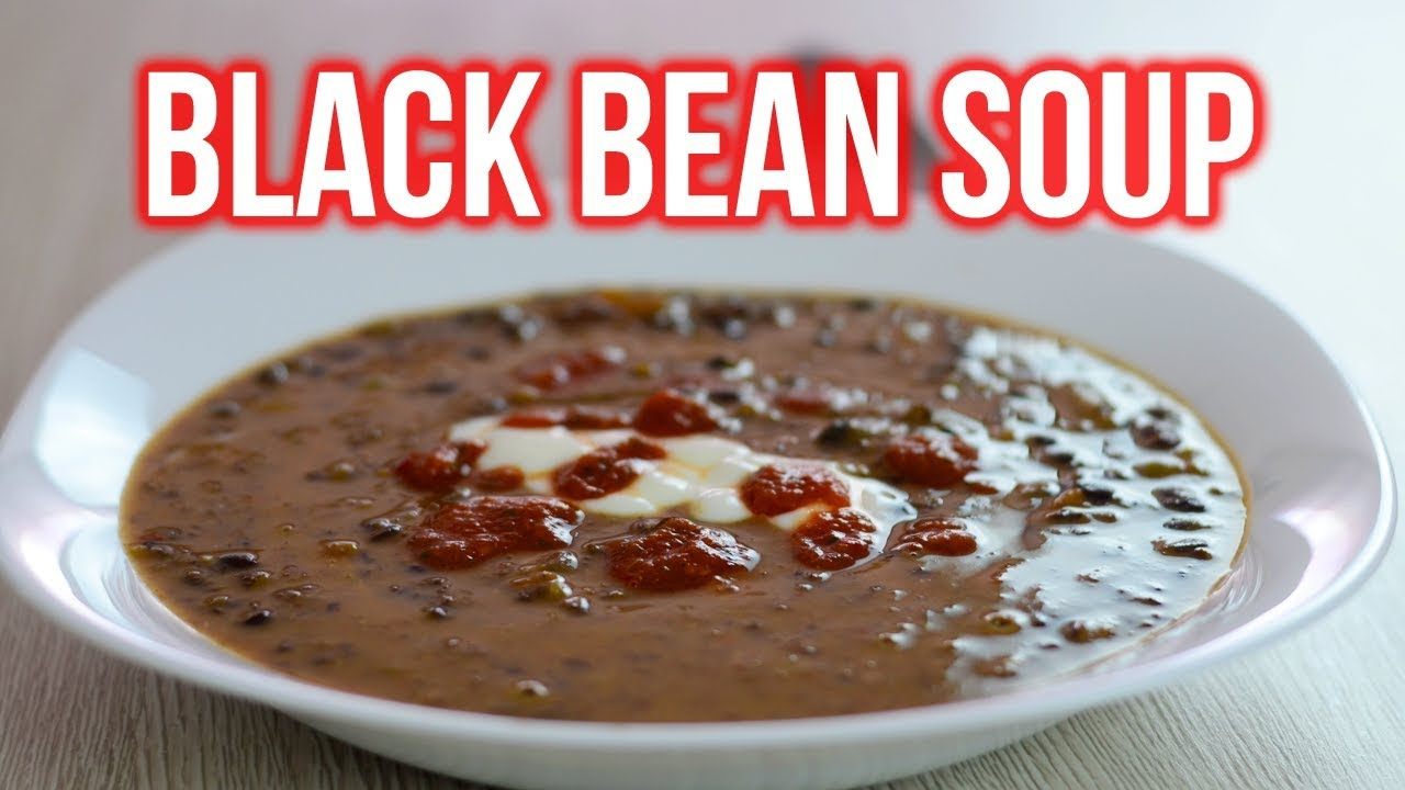 30-Minute Black Bean Soup Recipe