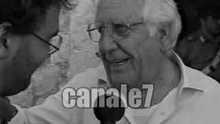 LA SCHIETTEZZA DI ANTONIO FILOGRANA DOPO LA CONQUISTA DELLO SCUDETTO BERRETTI DEL CASARANO NEL 1997