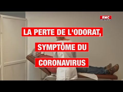 La perte de l'odorat, symptôme du coronavirus
