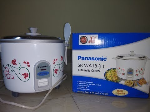 Panasonic Rice Cooker Unboxing & Review | Cooking Fried Rice In Rice Cooker |