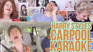 Harry Styles - Carpool Karaoke - REACTION - James Corden