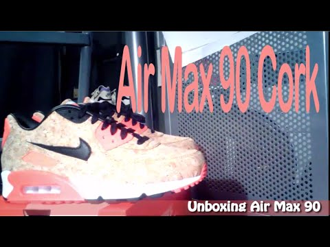 first-air-max-90-cork-unboxing---on-feet