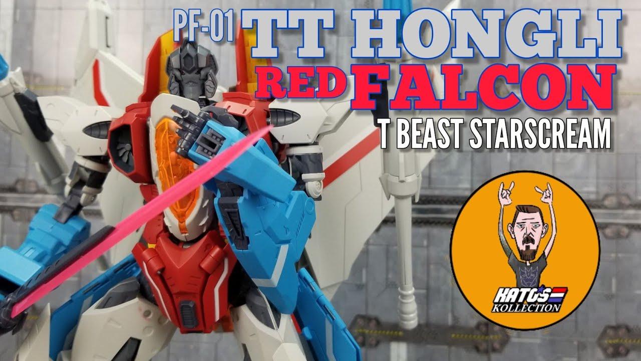 TT Hongli PF-01 Red Falcon (T Beast Starscream) in-Hand Review