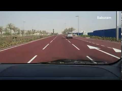 Doha Qatar's First Red street