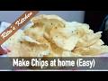 How to Make Rava Vadiyalu Sooji Papad Chips at Home Tutorial