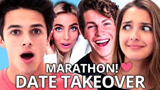 MY BEST FRIEND sets me up on DATE TAKEOVER - Brent Rivera, Ben Azelart, Lexi Hensler & More!