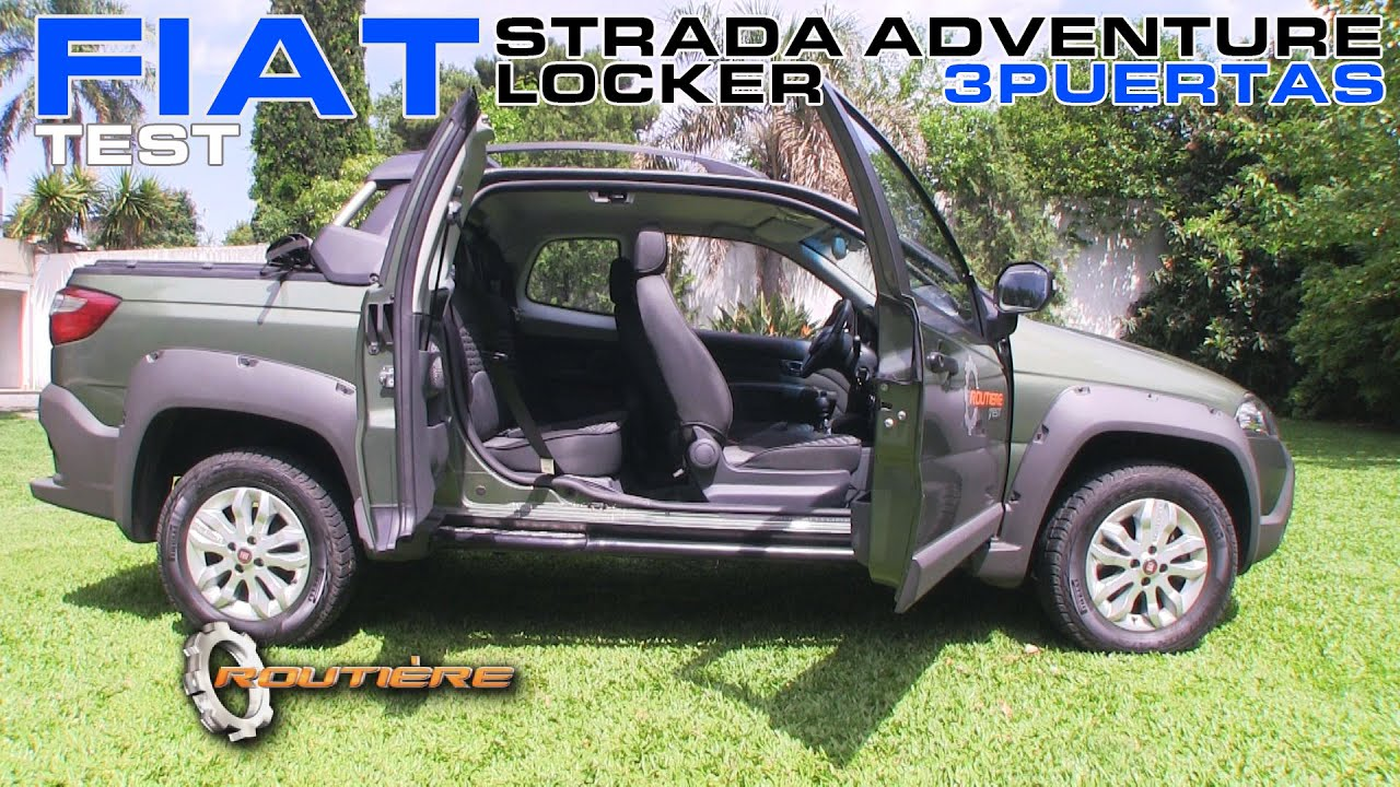 fiat strada adventure locker tres puertas test routi re pgm 292 youtube. Black Bedroom Furniture Sets. Home Design Ideas