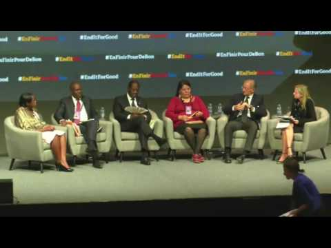 The Global Fund: GCEO Ade Ayeyemi on Global Leaders Panel