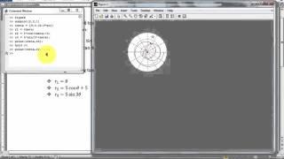 [ Thành Nguyễn ] --[Matlab - Cơ bản] - Vẽ đồ thị (phần 3)  Hệ tọa độ cực