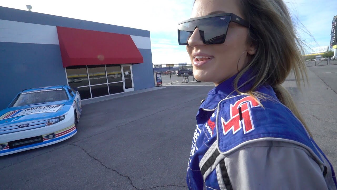 tricked-my-girlfriend-into-driving-a-nascar
