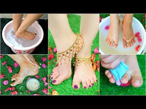 Step by Step PEDICURE at Home - Remove SUNTAN Instantly .. | #Hacks #DeTan #Beauty #Anaysa