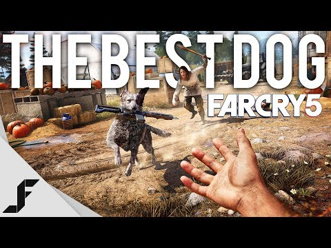 BEST VIDEO GAME DOG - FAR CRY 5 Gameplay + First Impressions