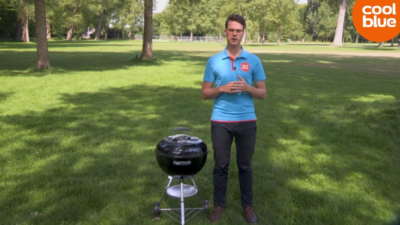 Weber Holzkohlegrill Compact Kettle ø 47 Cm : Weber bar b kettle cm review nederlands youtube