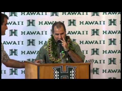 David Matlin Press Conference As Hawaii Athletics Director