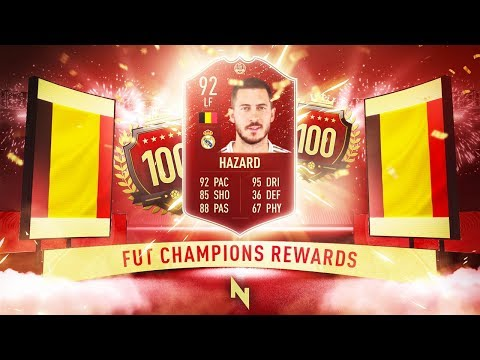 RED HAZARD PLAYER PICK! - TOP 100 FUT CHAMPS REWARDS - FIFA 20 Ultimate Team