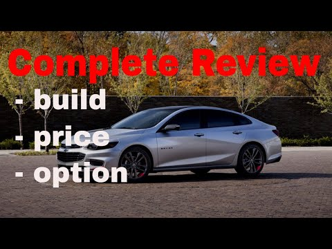 2018 Chevrolet Malibu - Build & Price Review (1of 5 Best Cars for Driving with Uber or Lyft )