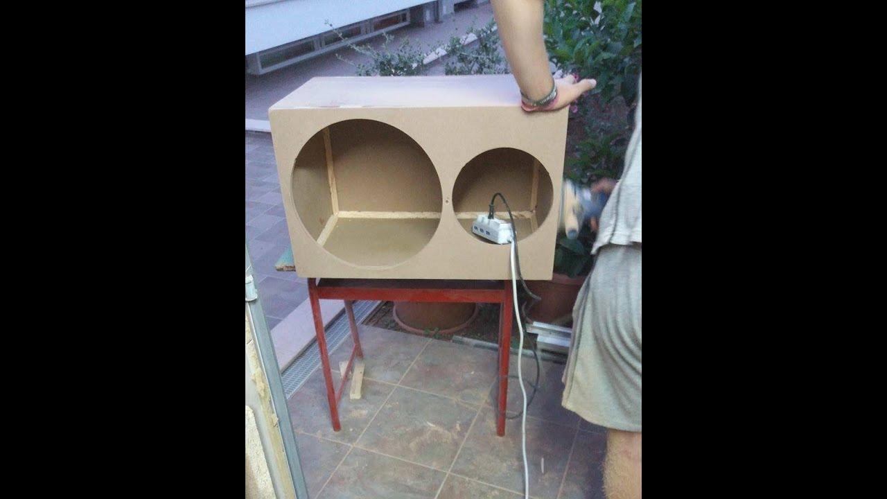 Come Costruire Una Cassa Per Subwoofer 38cm