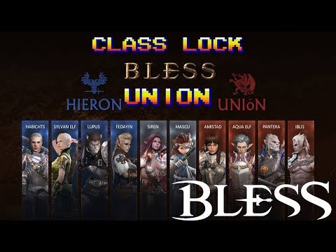 Which Races can be Which Classes? Bless Online! (Union Faction)